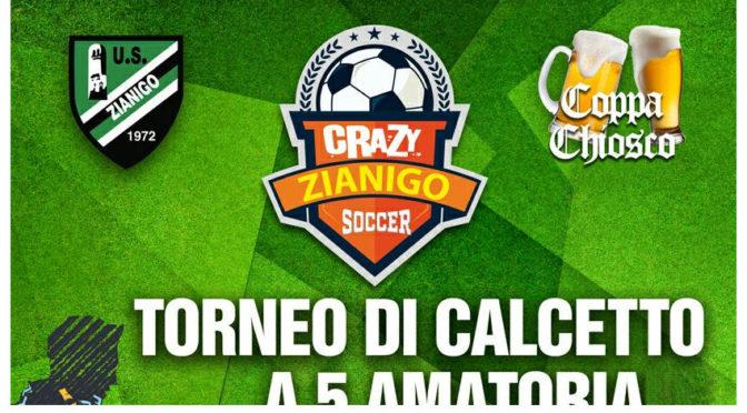 Crazy Zianigo Soccer – Maxischermo Finale di Coppa Italia Milan VS Juventus- Pasta gratis per tutti – 21 Maggio 2016